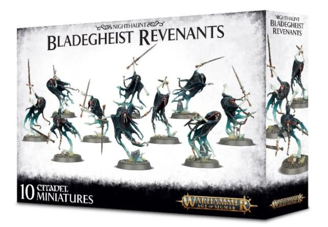 Games-Workshop Nighthaunt Bladegheist Revenants