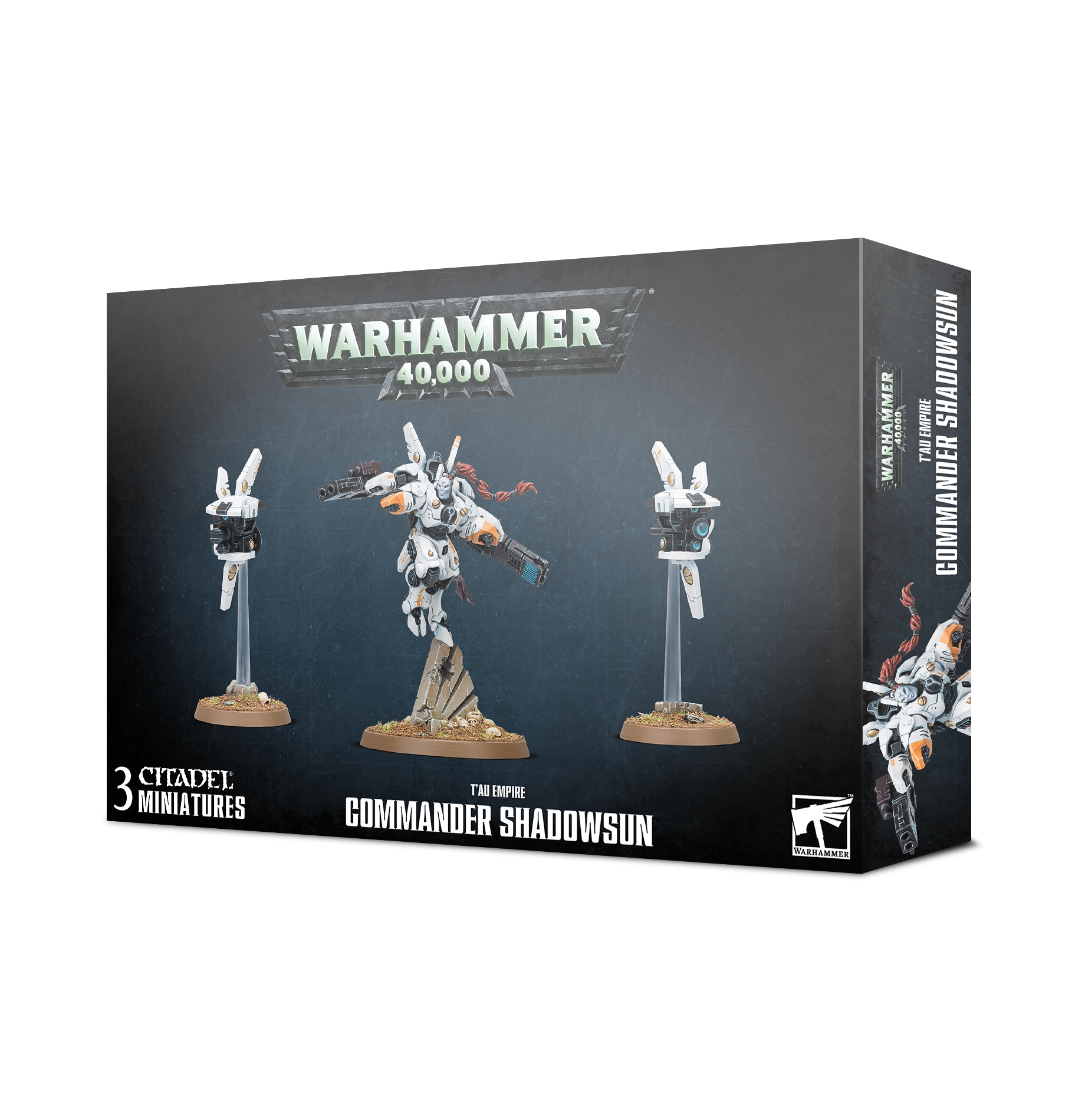Games-Workshop T'Au Empire: Commander Shadowsun