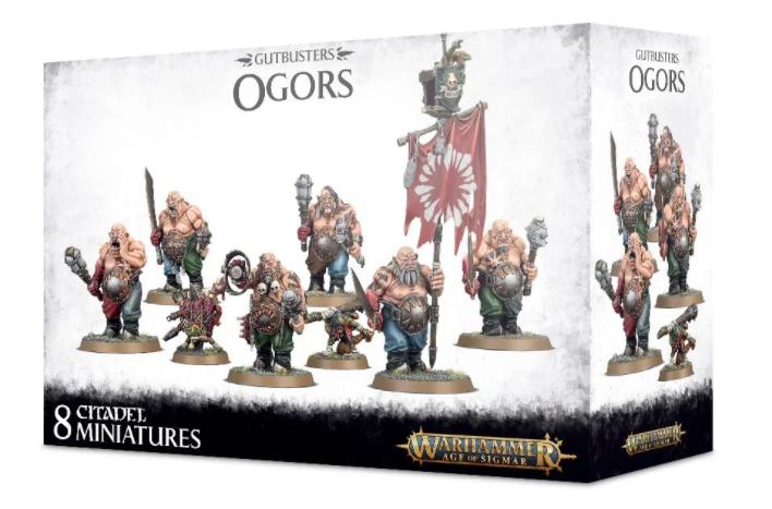 Games-Workshop Gutbusters Ogors
