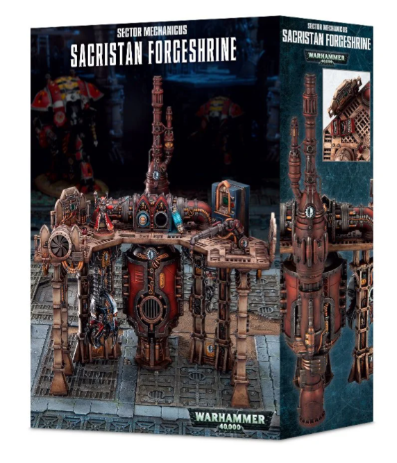 Games-Workshop Sector Mechanicus: Sacristan Forgeshrine