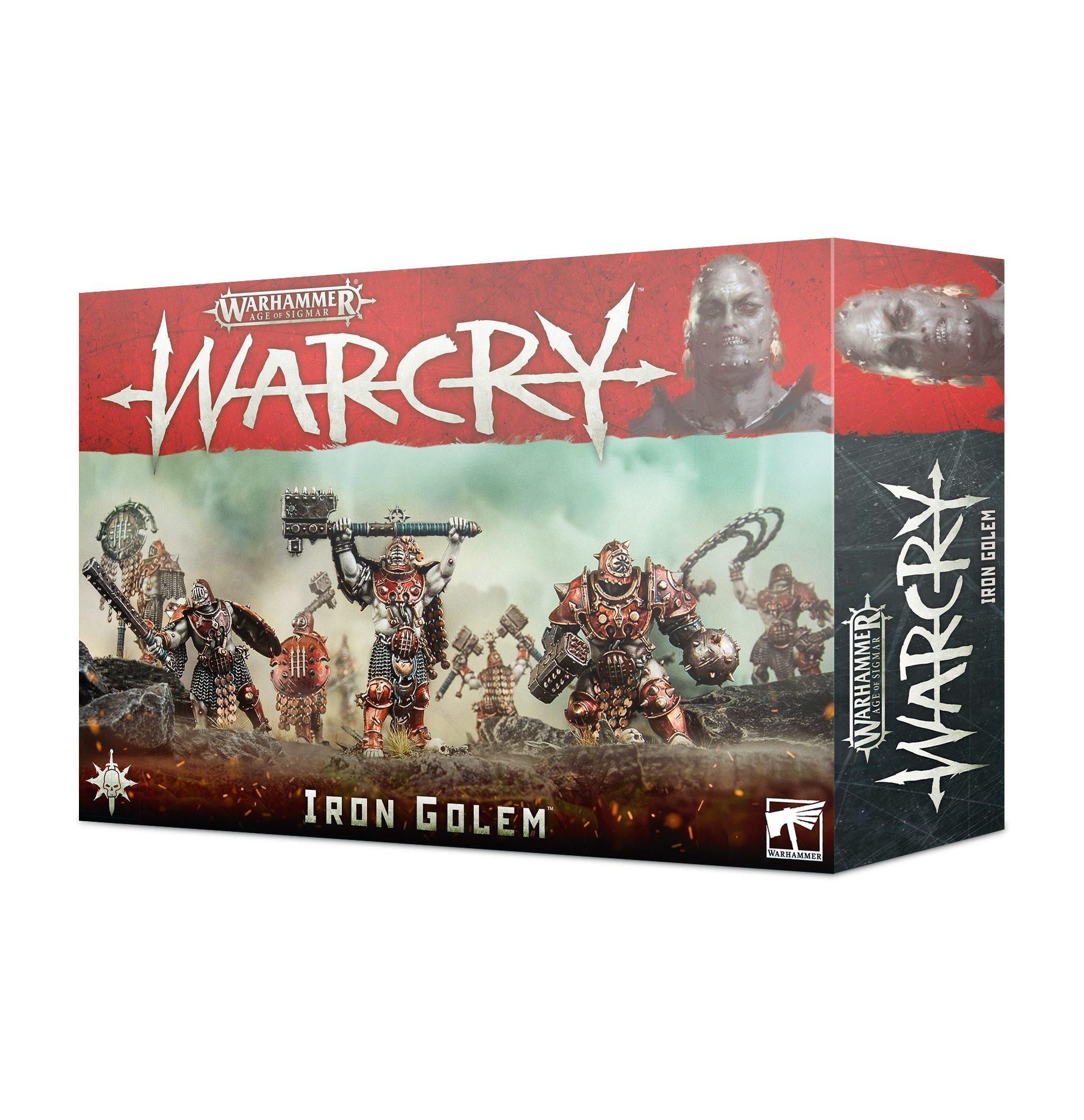 Games-Workshop Warcry: Iron Golem