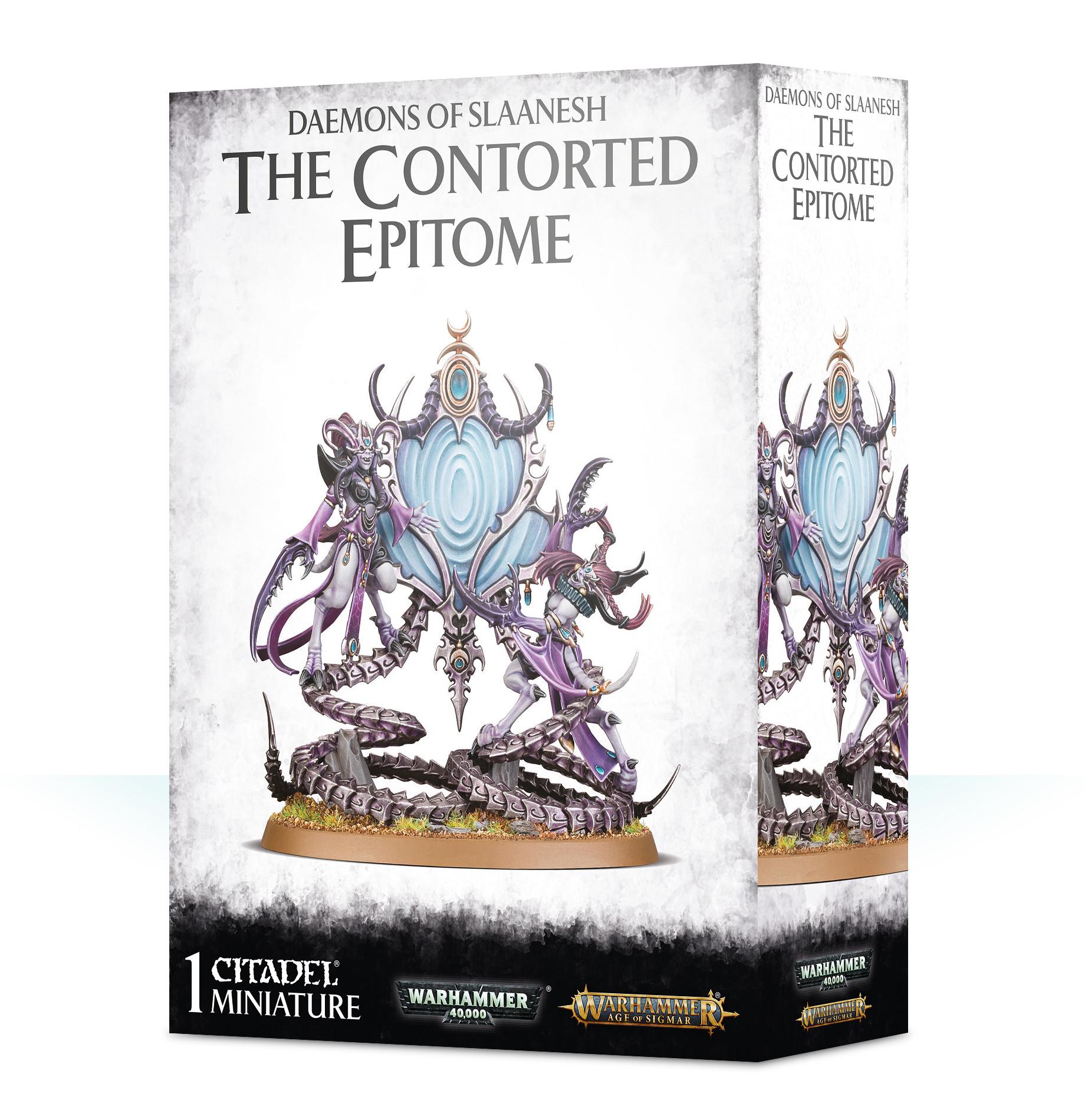 Games-Workshop Daemons/Slaanesh: The Contorted Epitome