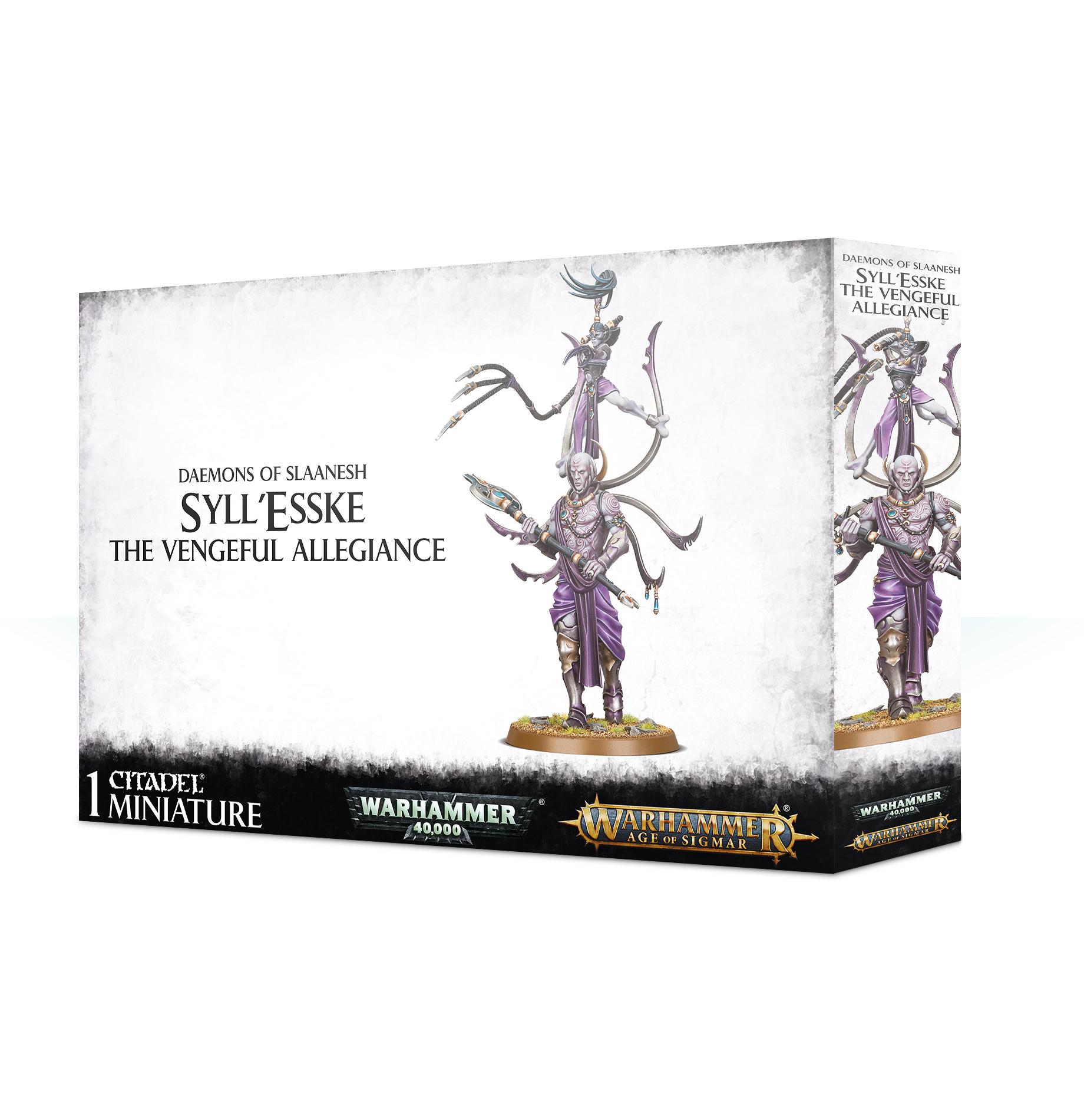 Games-Workshop Syll'Esske: The Vengeful Allegiance