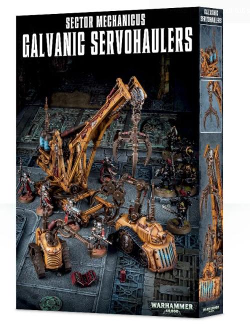 Games-Workshop Sector Mechanicus:Galvanic Servo-Haulers