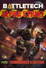 Catalyst Game Lab BattleTech: Alpha Strike - Commander`s Edition