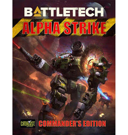 Catalyst Game Lab BattleTech: Alpha Strike - Commander`s Edition