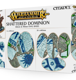 Games-Workshop Aos: Shattered Dominion: 60 & 90Mm Oval