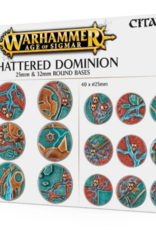 Games-Workshop Aos: Shattered Dominion: 25 & 32Mm Round