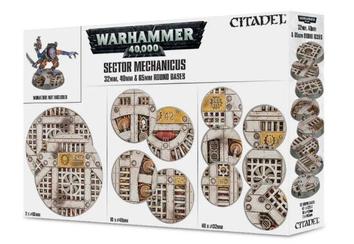 Games-Workshop Sector Mechanicus: Industrial Bases