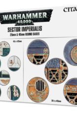 Games-Workshop Sector Imperialis: 25 & 40Mm Round Bases