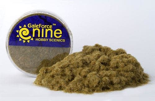 Gale Force 9 Basing Hobby Round- Winter/Dead Static Grass