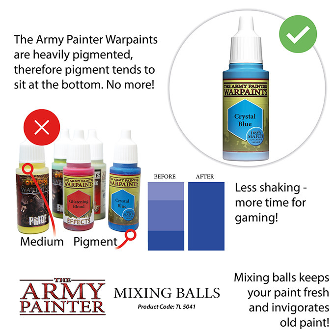 The Army Painter Tools: Mixing Balls