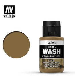 Vallejo Model Wash: Dark Khaki Green (35 ml)