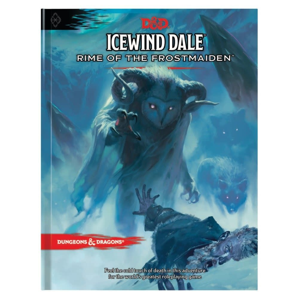 Dungeons and Dragons Dungeons and Dragons RPG: Icewind Dale - Rime of the Frostmaiden Hard Cover