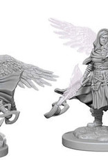 WizKids Dungeons & Dragons Nolzur`s Marvelous Unpainted Miniatures: W4 Aasimar Female Wizard