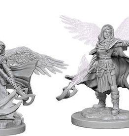 WizKids Dungeons & Dragons Nolzur`s Marvelous Unpainted Miniatures: W4 Aasimar Female Wizard