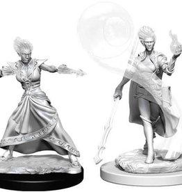 WizKids Dungeons & Dragons Nolzur`s Marvelous Unpainted Miniatures: W5 Fire Genasi Female Wizard