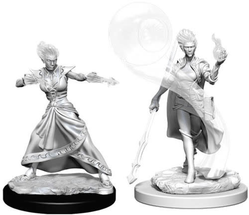 WizKids Dungeons & Dragons Nolzur`s Marvelous Unpainted Miniatures: W5 Fire Genasi Female Wizard