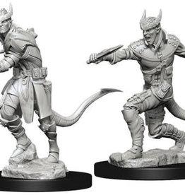 WizKids Dungeons & Dragons Nolzur`s Marvelous Unpainted Miniatures: W5 Tiefling Male Rogue