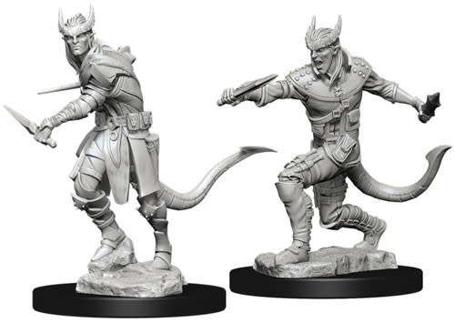 WizKids Dungeons & Dragons Nolzur`s Marvelous Unpainted Miniatures: W5 Tiefling Male Rogue