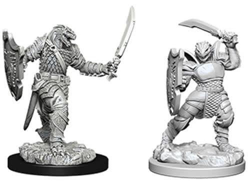 WizKids Dungeons & Dragons Nolzur`s Marvelous Unpainted Miniatures: W5 Dragonborn Female Paladin