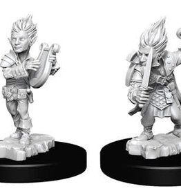 WizKids Pathfinder Deep Cuts Unpainted Miniatures: W5 Gnome Male Bard