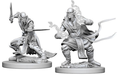 WizKids Dungeons & Dragons Nolzur`s Marvelous Unpainted Miniatures: W5 Githzerai