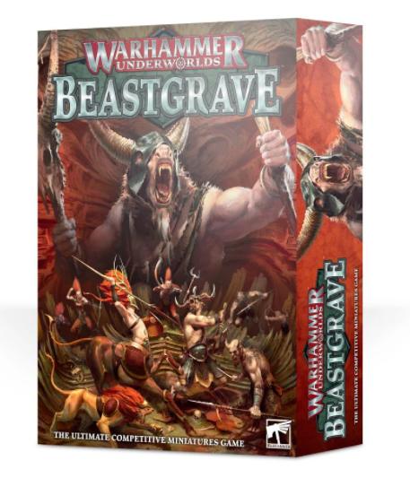 Games-Workshop Warhammer Underworlds: Beastgrave  (Eng)