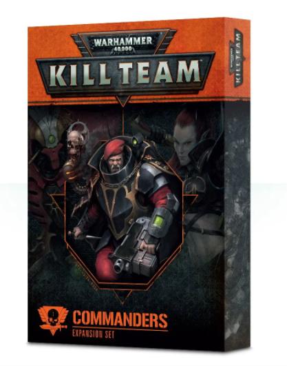 Games-Workshop Kill Team: Commanders (English)