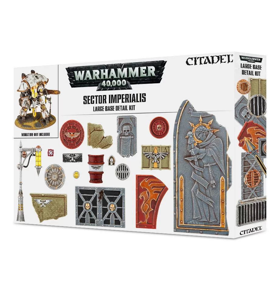 Games-Workshop Sector Imperialis: Large Base Detail Kit