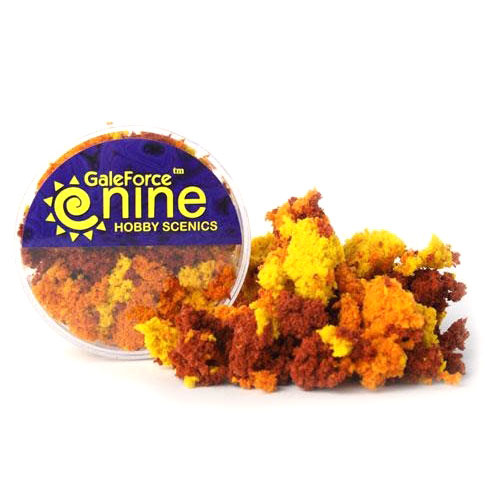 Gale Force 9 Basing Hobby Round- Autumn 3 Color Foliage Mix