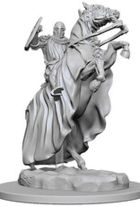 WizKids Pathfinder Deep Cuts Unpainted Miniatures: W5 Knight on Horse