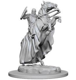 WizKids Pathfinder Deep Cuts Unpainted Miniatures: W5 Knight on Horse