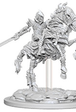 WizKids Pathfinder Deep Cuts Unpainted Miniatures: W5 Skeleton Knight on Horse