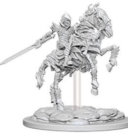 WizKids Pathfinder Deep Cuts Unpainted Miniatures: W5 Skeleton Knight on Horse