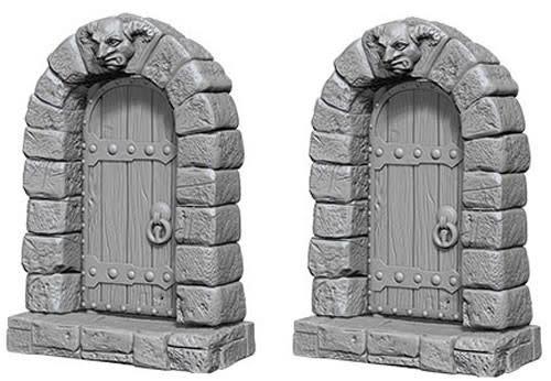 WizKids WizKids Deep Cuts Unpainted Miniatures: W5 Doors