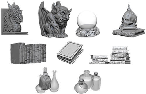 WizKids WizKids Deep Cuts Unpainted Miniatures: W5 Wizards Room