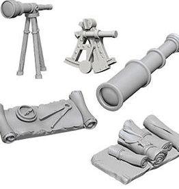 WizKids WizKids Deep Cuts Unpainted Miniatures: W5 Navigators Pack