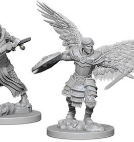 WizKids Dungeons & Dragons Nolzur`s Marvelous Unpainted Miniatures: W6 Male Aasimar Fighter