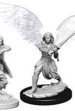 WizKids Dungeons & Dragons Nolzur`s Marvelous Unpainted Miniatures: W6 Female Aasimar Fighter