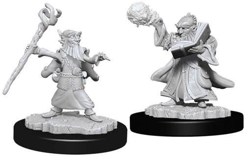WizKids Dungeons & Dragons Nolzur`s Marvelous Unpainted Miniatures: W6 Male Gnome Wizard
