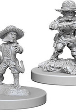 WizKids Pathfinder Deep Cuts Unpainted Miniatures: W6 Halfling Male Rogue