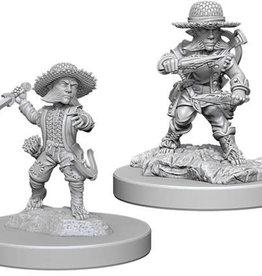 WizKids Pathfinder Deep Cuts Unpainted Miniatures: W6 Halfling Male Rogue