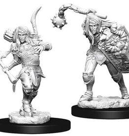 WizKids Pathfinder Deep Cuts Unpainted Miniatures: W6 Male Elf Fighter