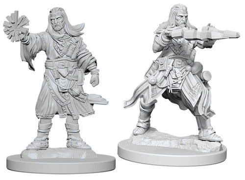 WizKids Pathfinder Deep Cuts Unpainted Miniatures: W6 Male Human Wizard
