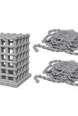 WizKids WizKids Deep Cuts Unpainted Miniatures: W6 Cage & Chains