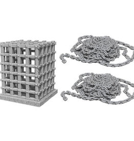 WizKids WizKids Deep Cuts Unpainted Miniatures: W6 Cage & Chains