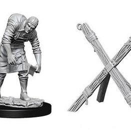 WizKids WizKids Deep Cuts Unpainted Miniatures: W6 Assistant & Torture Cross