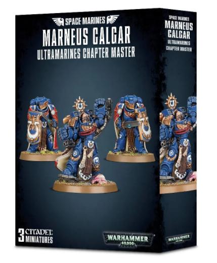 Games-Workshop Marneus Calgar: Ultramarines Chapter Master