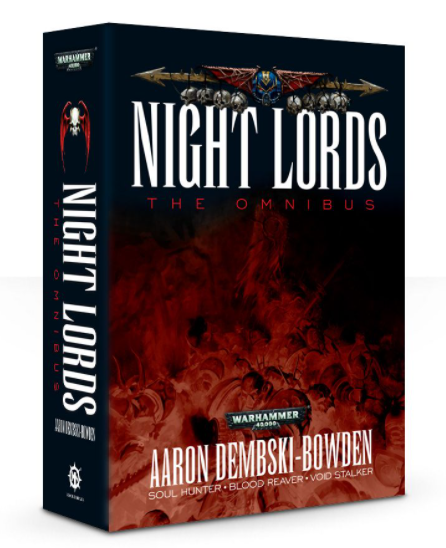 Black Library Night Lords: The Omnibus
